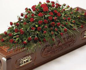 casket-spray-rose