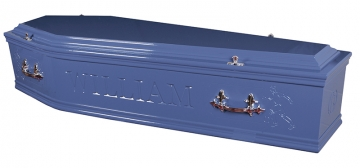Artiste Coffin Blue - £895.00