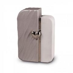 Ceramic Grey & White Heart - £215
