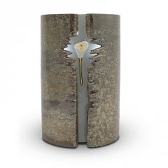 Ceramic Wrapped Lily LED (Brown) - £275