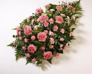 Sprays Carnation Teardrop Shape from £45