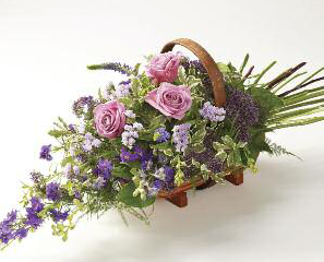 Trugs - Lilac & Pink - £40