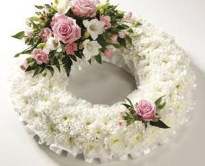 Wreathes - Elegant White from £95