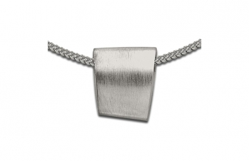 Sterling Silver Trapezium Slide Pendant - £135.00