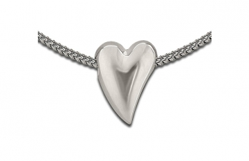 Sterling Silver Abstract Heart Pendant - £135.00