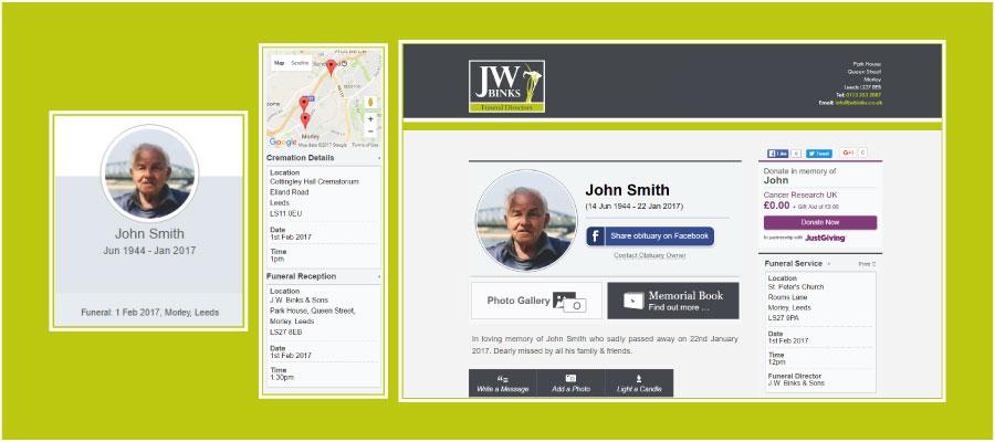 JW Binks Online Obituaries
