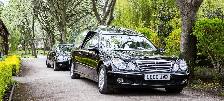 JW Binks Funeral's vehicles